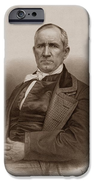 Sam Houston Portrait IPhone 6s Case by War Is Hell Store