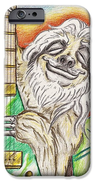 Samson The Sloth IPhone Case by Bryant Lamb