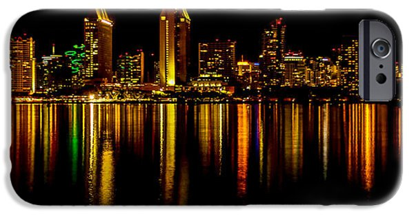 San Diego Panoramic IPhone Case by Bill Gallagher