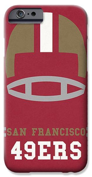 San Francisco 49ers Vintage Art IPhone 6s Case by Joe Hamilton
