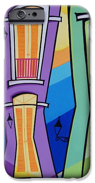 San Juan Alegre-4 IPhone Case by Mary Tere Perez
