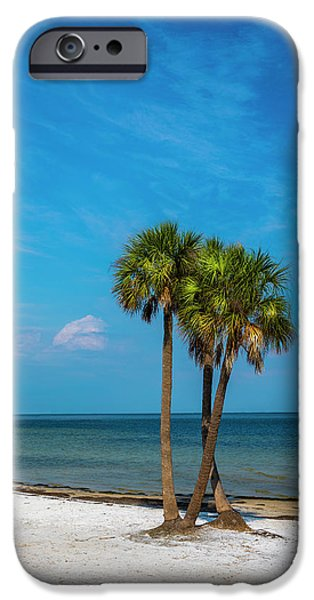 Sand And Palms IPhone Case by Marvin Spates