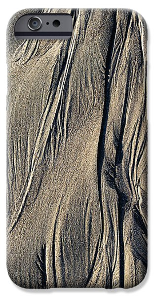 Sand Angel IPhone Case by Tim Gainey