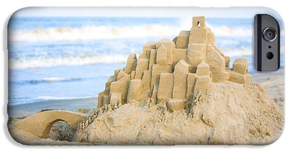Sand Castle IPhone Case by Diane Diederich