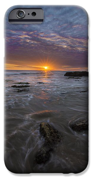 Santa Barbara Tides IPhone Case by Jeremy Jensen