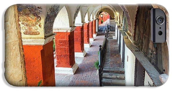 Santa Catalina Monastery Corridor IPhone Case by Jess Kraft