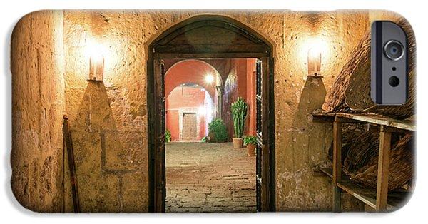 Santa Catalina Monastery Hallway IPhone Case by Jess Kraft