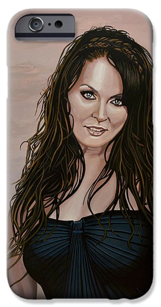 Sarah Brightman IPhone Case by Paul Meijering