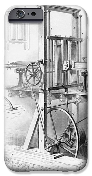 Sawmill. From Cyclopaedia Of Useful IPhone Case by Vintage Design Pics