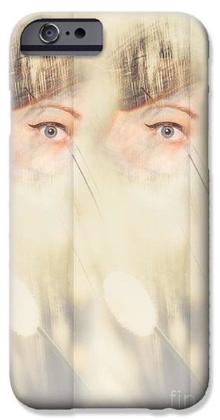 Scrying Parallel Lives IPhone Case by Jorgo Photography - Wall Art Gallery