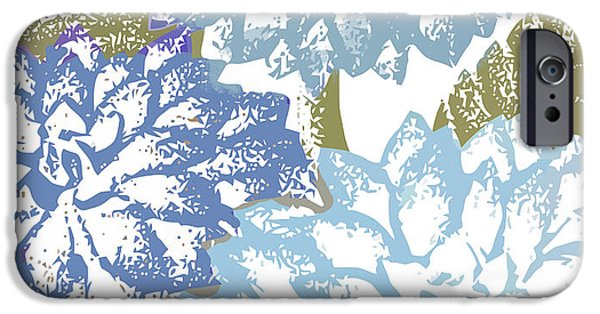 Sea Dahlias I IPhone Case by Mindy Sommers