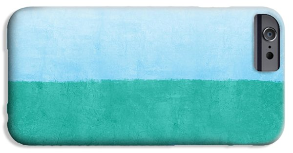 Sea Of Blues IPhone Case by Linda Woods