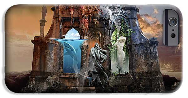 Self Reincarnation  IPhone Case by George Grie