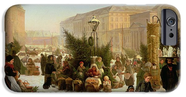 Selling Christmas Trees IPhone Case by David Jacobsen