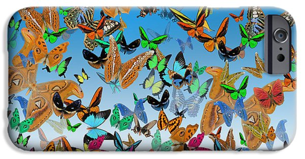 Sending Happy Wishes IPhone Case by Betsy C Knapp