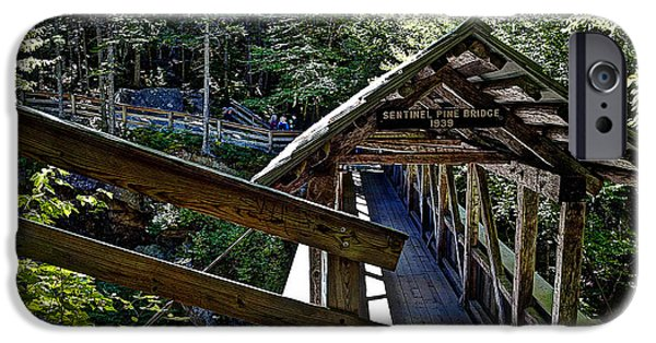 Sentinel Pine Covered Bridge  IPhone 6s Case by Deborah Klubertanz
