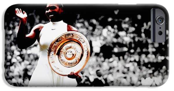 Serena 2016 Wimbledon Victory IPhone 6s Case by Brian Reaves