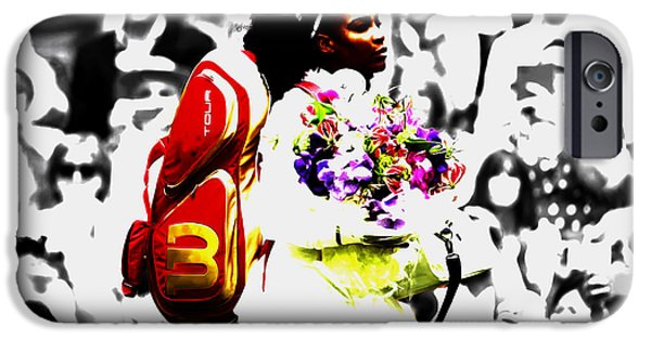 Serena Williams 2f IPhone 6s Case by Brian Reaves