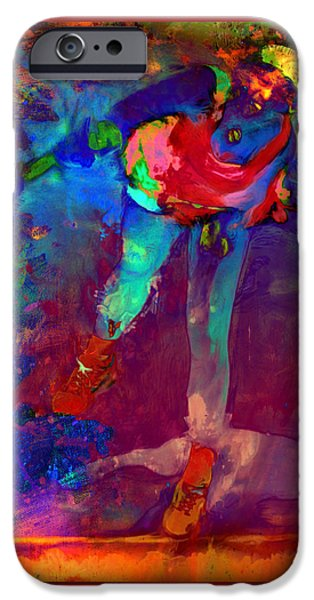 Serena Williams Return Explosion IPhone 6s Case by Brian Reaves