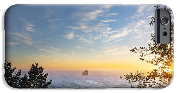 Serene Coast IPhone Case by Leland D Howard