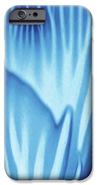 Serenity Blue Turqouise Marine Life Seascape IPhone Case by Amy Vangsgard