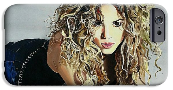 Shakira  IPhone 6s Case by Gitanjali  Sood
