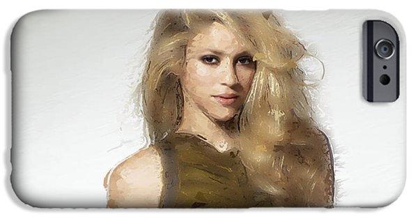 Shakira IPhone 6s Case by Iguanna Espinosa