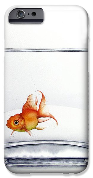 Shiny IPhone 6s Case by Christina Meeusen
