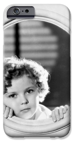 Shirley Temple (1928-2014) IPhone 6s Case by Granger