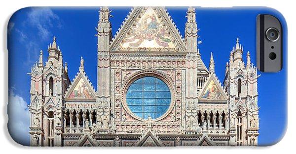 Siena Cathedral, Duomo Di Siena In Siena, Italy IPhone Case by Michal Bednarek