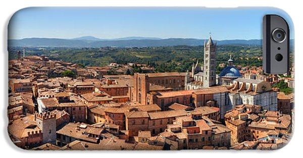 Siena, Italy Panorama IPhone Case by Michal Bednarek