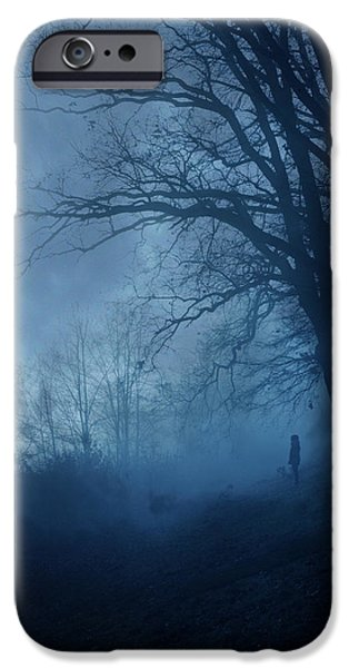 Silence IPhone Case by Cambion Art