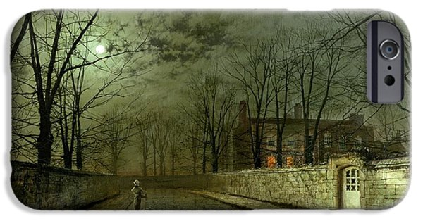 Silver Moonlight IPhone 6s Case by John Atkinson Grimshaw