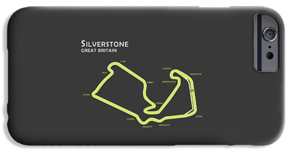 Silverstone IPhone Case by Mark Rogan