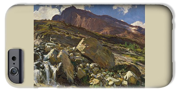 Simplon Pass IPhone Case by John Singer Sargent