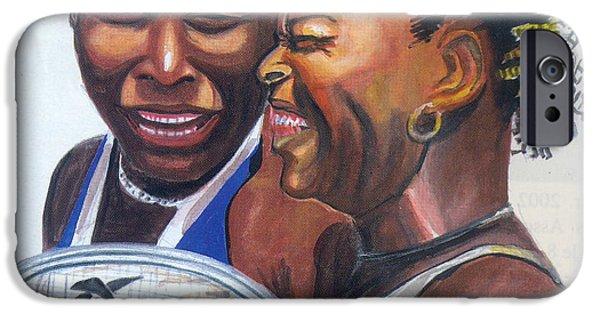 Sisters Williams IPhone 6s Case by Emmanuel Baliyanga