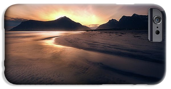 Skagsanden Sunrise IPhone Case by Tor-Ivar Naess