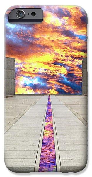 Sky Flow La Jolla IPhone Case by William Dey