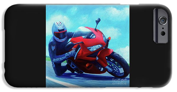 Sky Pilot - Honda Cbr600 IPhone 6s Case by Brian  Commerford