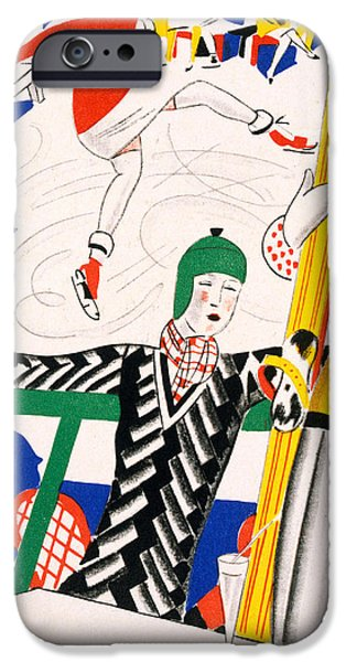 Sledging IPhone Case by Charles Martin