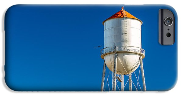 Small Town Water Tower IPhone Case by Todd Klassy