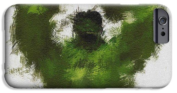 Smashing Green IPhone Case by Miranda Sether