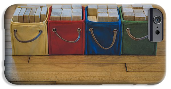 Smiling Block Bins IPhone Case by Scott Norris