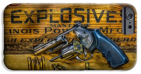 Smith And Wesson 357 Magnum IPhone Case by Paul Freidlund
