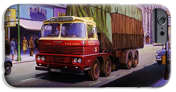 Smith's Scammell Routeman II IPhone Case by Mike  Jeffries