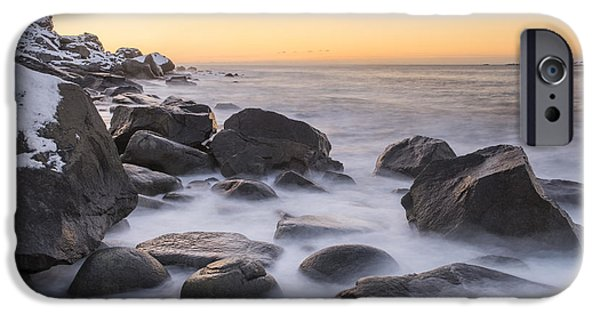 Smoke On The Water IPhone Case by Timm Chapman