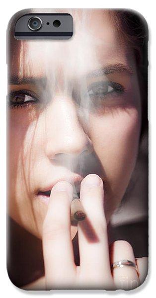 Smoke IPhone Case by Jorgo Photography - Wall Art Gallery