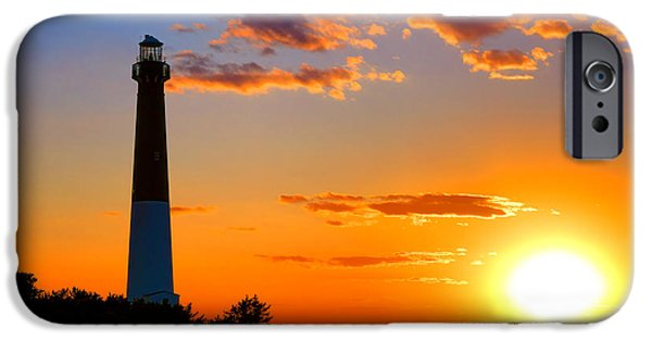 Smokestack Barnegat IPhone Case by Olivier Le Queinec