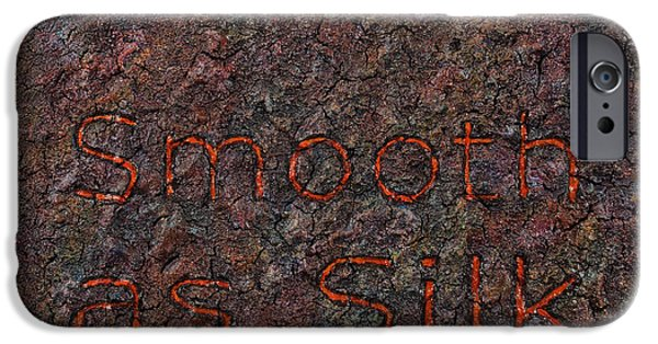 Smooth As Silk IPhone Case by James W Johnson