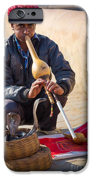 Snake Charmer IPhone 6s Case by Inge Johnsson